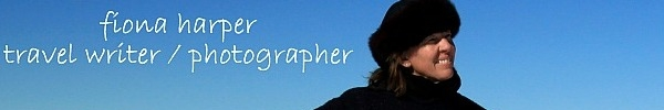 Fiona Harper Travel Writer & Photographer