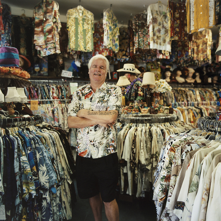 Bailey's Antiques and Aloha Shirts Inc. was founded in 1980 in Honolulu. Bailey's has the world's largest selection of aloha shirts (over 15,000) and is now doing internet business at alohashirts.com. In addition Bailey's has a wide selection of Americana and Hawaiiana antiques and collectibles.