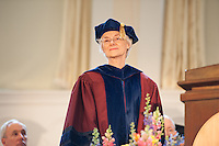 Elizabeth Ezerman, Ph.D. Commencement, class of 2013.