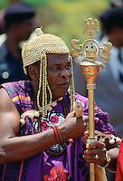 Nigerian Chief dancing, Nigeria