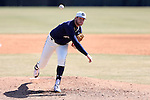 CARY, NC - MARCH 05: Notre Dame's Brad Bass. The Monmouth University Hawks played the University of Notre Dame Fighting Irish on March 5, 2017, at USA Baseball NTC Field 2 in Cary, NC in a Division I College Baseball game, and part of the Irish Classic tournament. Notre Dame won the game 4-0.