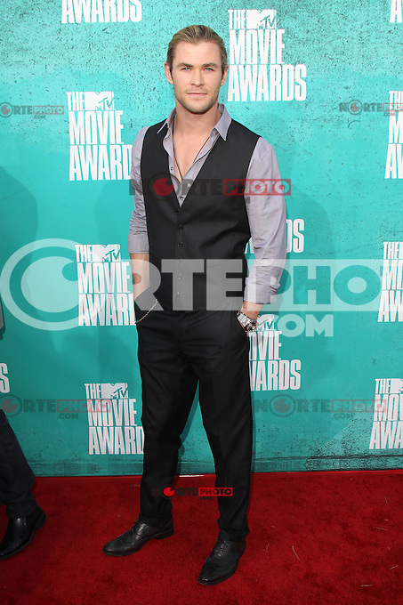 Chris Hemsworth at the 2012 MTV Movie Awards held at Gibson Amphitheatre on June 3, 2012 in Universal City, California. © mpi29/MediaPunch Inc.