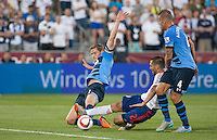 Commerce City, Colorado - July 29, 2015: The MLS All Stars defeated the visiting Tottenham Hotspur FC 2-1 in the 20th edition of the MLS All Star game at Dick's Sporting Goods Park.