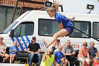 FIERLJEPPEN: IJLST: 01-08-205, Fries Kampioenschap, Tirza Boschma, ©foto Martin de Jong