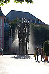 Carnival Fountain (1967) by Blasius Spreng and Helmut Gr&auml;f, at the Schiller Square in Mainz<br /> <br /> Fuente de Carnaval (1967) por Blasius Spreng y Helmut Gr&auml;f, en la plaza de Schiller en Maguncia, Rheinland-Pfalz, Alemania<br /> <br /> Fastnachtsbrunnen (1967) auf dem Schillerplatz in Mainz, Rheinland-Pfalz, Deutschland<br /> <br /> orig.: 3008 x 2000 px<br /> 150 dpi: 50,94 x 33,87 cm<br /> 300 dpi: 25,47 x 16,93 cm
