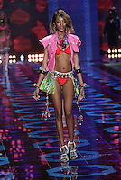 Jourdan Dunn on the runway at the Victoria's Secret Fashion Show 2014 London held at Earl's Court, London. 02/12/2014 Picture by: James Smith / Featureflash