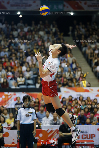 Yoshifumi Suzuki (JPN), SEPTEMBER 21, 2015 - Volleyball : FIVB Men's World Cup 2015 A-site 3rd Round between Japan 0-3 Argentina 1st Yoyogi Gymnasium in Tokyo, Japan. (Photo by Yusuke Nakanishi/AFLO SPORT)