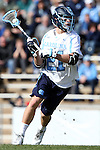 06 February 2016: North Carolina's Michael Tagliaferri. The University of North Carolina Tar Heels hosted the University of Michigan Wolverines in a 2016 NCAA Division I Men's Lacrosse match. UNC won the game 20-10.