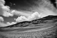 White Mountains - Lensbaby - Black & White