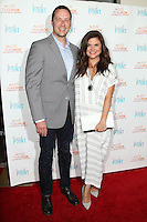 STUDIO CITY, CA - JULY 27: Tiffany Thiessen, Brady Smith  at Raising The Bar To End Parkinson's at Laurel Point on July 27, 2016 in Studio City, California. Credit: David Edwards/MediaPunch