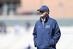 20 October 2013: UNC head coach Anson Dorrance. The University of North Carolina Tar Heels hosted the University of Virginia Cavaliers at Fetzer Field in Chapel Hill, NC in a 2013 NCAA Division I Women's Soccer match. Virginia won the game 2-0.