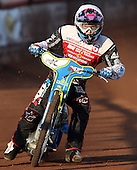 Jason Doyle of Swindon Robins - Lakeside Hammers vs Swindon Robins at the Arena Essex Raceway, Pufleet - 18/06/12 - MANDATORY CREDIT: Rob Newell/TGSPHOTO - Self billing applies where appropriate - 0845 094 6026 - contact@tgsphoto.co.uk - NO UNPAID USE..