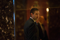 Eric Trump, son of President-elect Donald Trump arrives at Trump Tower in Manhattan, New York, U.S., on Friday, November 18, 2016.<br /> Credit: John Taggart / Pool via CNP /MediaPunch
