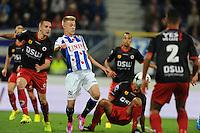 VOETBAL: HEERENVEEN: Abe Lenstra stadion 23-08-2014, SC Heerenveen - Excelsior uitslag 2 - 0, Daley Sinkgraven, ©foto Martin de Jong