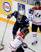 Jerry D'Amigo (USA - 29), Ryan Ellis (Canada - 6) - Team Canada defeated Team USA 5-4 (SO) on Thursday, December 31, 2009, at the Credit Union Centre in Saskatoon, Saskatchewan, during the 2010 World Juniors tournament.