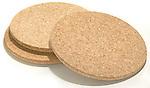round cork hot plates