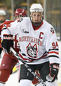 Tyler McNeely (NU - 94) - The Northeastern University Huskies defeated the Harvard University Crimson 4-1 (EN) on Monday, February 8, 2010, at the TD Garden in Boston, Massachusetts, in the 2010 Beanpot consolation game.