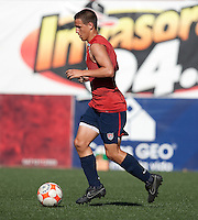 Luis Gil training before the 2009 CONCACAF Under-17 Championship From April 21-May 2 in Tijuana, Mexico
