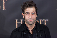 """Leandro Rivera attends  """"The Hobbit: An Unexpected Journey"""" premiere at the Callao cinema- Madrid."""