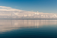 &quot;Water Like Glass&quot;<br /> Clouds Over Long Island Sound<br /> Baiting Hollow, Long Island