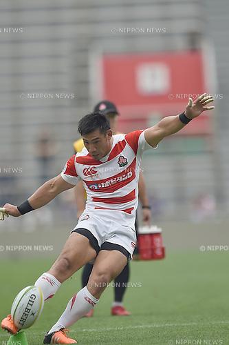 Ryoto Nakamura (JPN), MAY 28, 2016 - Rugby : Asia Rugby Championship game between Japan 59-17 Hong Kong at Prince Chichibu Memorial Stadium in Tokyo, Japan. (Photo by AFLO)