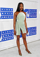 NEW YORK, NY - AUGUST 28:Naomi Campbell attend the 2016 MTV Video Music Awards at Madison Square Garden on August 28, 2016 in New York City Credit John Palmer / MediaPunch