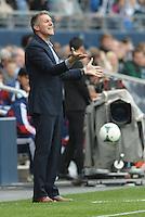 Peter Vermes Head Coach Sporting KC ..Sporting Kansas City defeated Chivas USA 4-0 at Sporting Park, Kansas City,Kansas.