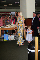 "LOS ANGELES - APR 17:  Tori Spelling, daughter Stella at a signing for her book ""celebraTORI"" at Barnes & Noble at The Grove on April 17, 2012 in Los Angeles, CA"