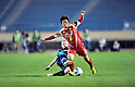(L to R) Ellen White (Arsenal), Maiko Nasu (Leonessa), NOVEMBER 30, 2011 - Football / Soccer : TOYOTA Vitz Cup during Frendiy Women's Football match INAC Kobe Leonessa 1-1 Arsenal Ladies FC at National Stadium in Tokyo, Japan. (Photo by Jun Tsukida/AFLO SPORT) [0003]
