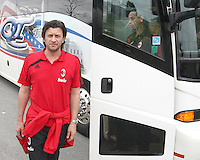 Kakha Kaladze of AC Milan during a practice session at RFK practice facility in Washington DC on May 24 2010.