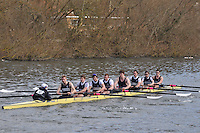 017 IM1.8+ Upper Thames RC..Reading University Boat Club Head of the River 2012. Eights only. 4.6Km downstream on the Thames form Dreadnaught Reach and Pipers Island, Reading. Saturday 25 February 2012.