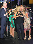 June 15 , 2012 Tim Gunn, Heidi Klum, Michael Kors, Nina Garcia at  Project Runway's 10th Anniversary Kick-Off at Times Square in New York City. © RW/MediaPunch Inc.