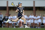 23 February 2017: Notre Dame's Alex Dalton. The Elon University Phoenix hosted the University of Notre Dame Fighting Irish at Rudd Field in Elon, North Carolina in a 2017 Division I College Women's Lacrosse match. Notre Dame won the game 16-7.