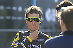 Sylvain Chavanel (FRA) Direct Energie at sign on for the 115th edition of the Paris-Roubaix 2017 race running 257km Compiegne to Roubaix, France. 9th April 2017.<br /> Picture: Eoin Clarke | Cyclefile<br /> <br /> <br /> All photos usage must carry mandatory copyright credit (&copy; Cyclefile | Eoin Clarke)