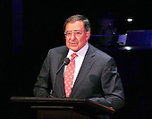United States Secretary of Defense Leon Panetta makes remarks at &quot;The Washington National Cathedral's A Call to Compassion&quot; being hosted at the John F. Kennedy Center for the Performing Arts in Washington, D.C. on Friday, September 9, 2011 to commemorate the tenth anniversary of 9/11 .Credit: Ron Sachs / Pool via CNP
