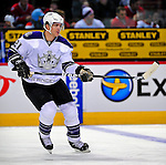 31 January 2009: Los Angeles Kings' defenseman Denis Gauthier warms up prior to facing the Montreal Canadiens at the Bell Centre in Montreal, Quebec, Canada. The Canadiens defeated the Kings 4-3. ***** Editorial Sales Only ***** Mandatory Photo Credit: Ed Wolfstein Photo