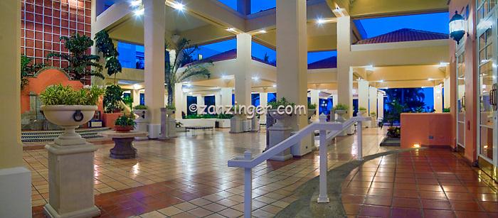 El Conquistador Resort, Hotel, Entrance, Las Croabas, Fajardo, Puerto Rico, Panorama, USA