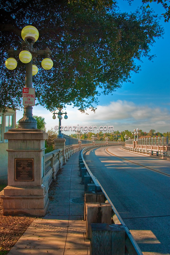 Pasadena, CA, Colorado, Street, Bridge, historic, concrete, arch, bridge, Vertical