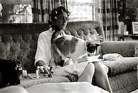 Lindie & Charlie. Ficksburg, South Africa. 30 Dec 2001. Leonie Marinovich