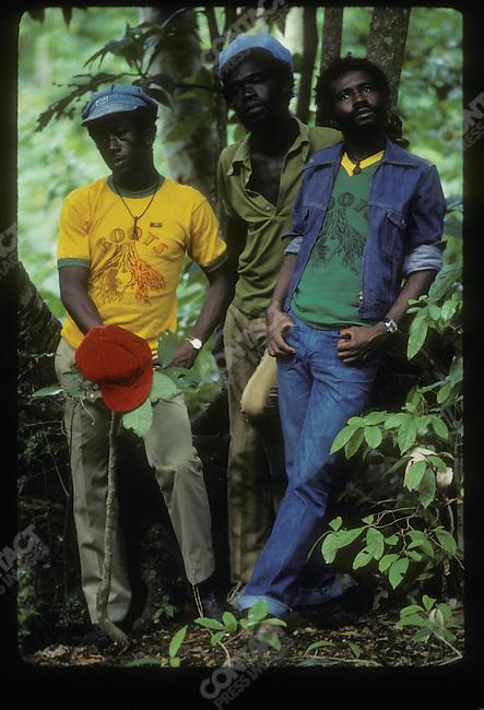 Burning Spear. Ocho Rios, Jamaica. March 1976