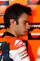 July 23, 2010 - Laguna Seca, USA -Repsol Honda team's Spanish rider, Dani Pedrosa, is pictured in his box prior to the U.S. Grand Prix held on July 25, 2010. (Photo Andrew Northcott/Nippon News).