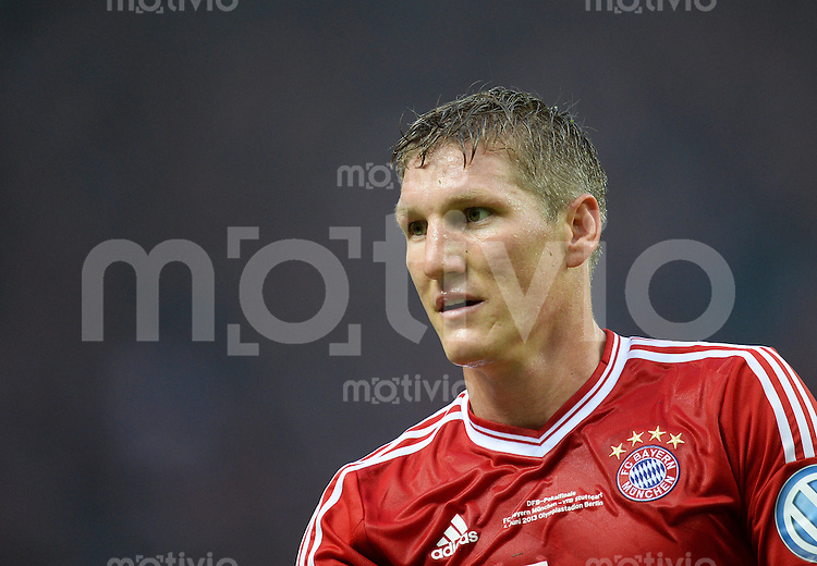 FUSSBALL       DFB POKAL FINALE        SAISON 2012/2013 FC Bayern Muenchen - VfB Stuttgart    01.06.2013 Bastian Schweinsteiger (FC Bayern Muenchen)