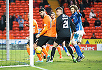 Dundee United v St Johnstone....21.11.15  SPFL,  Tannadice, Dundee<br /> Murray Davidson scores to make it 2-1<br /> Picture by Graeme Hart.<br /> Copyright Perthshire Picture Agency<br /> Tel: 01738 623350  Mobile: 07990 594431