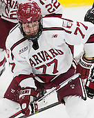 Lewis Zerter-Gossage (Harvard - 77) - The Harvard University Crimson defeated the visiting Rensselaer Polytechnic Institute Engineers 5-2 in game 1 of their ECAC quarterfinal series on Friday, March 11, 2016, at Bright-Landry Hockey Center in Boston, Massachusetts.