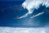 Hawaii, Oahu, North Shore, Waimea Bay.