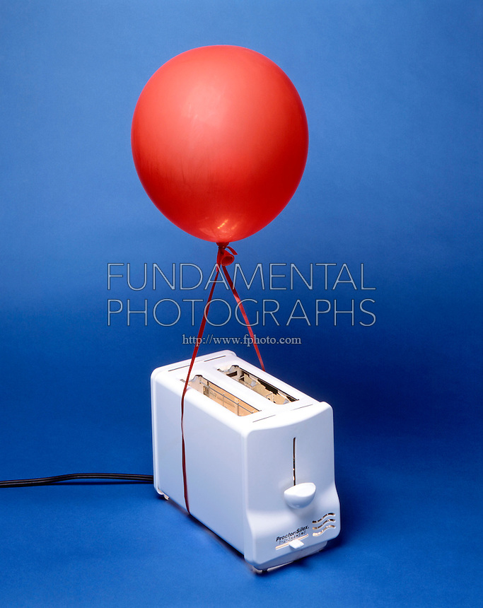 HEAT FROM TOASTER CAUSES BALLOON TO RISE<br />