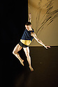 """London, UK. 27.02.2014. Yorke Dance Project presents a triple bill of work in the Lilian Baylis Studio, Sadler's Wells. Picture shows  Kieran Stoneley in Charlotte Edmonds's """"No Strings Attached"""". Photograph © Jane Hobson."""