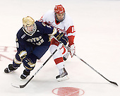 Kyle Palmieri (Notre Dame - 10), Wade Megan (BU - 18) - The University of Notre Dame Fighting Irish defeated the Boston University Terriers 3-0 on Tuesday, October 20, 2009, at Agganis Arena in Boston, Massachusetts.