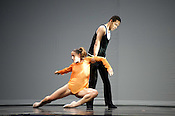 Hubbard Street Dance Chicago performs Quintett at DPAC on Friday June 29th 2012.