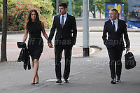 04.10.2016 - Cardiff Crown Court - Cardiff, South Glamorgan, South Wales - The opening day of the Ched Evans trial following his successful appeal. <br /> <br /> <br /> Jeff Thomas Photography -  www.jaypics.photoshelter.com - <br /> e-mail swansea1001@hotmail.co.uk -<br /> Mob: 07837 386244 -